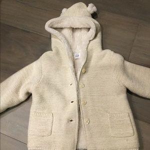 Warm kids jacket